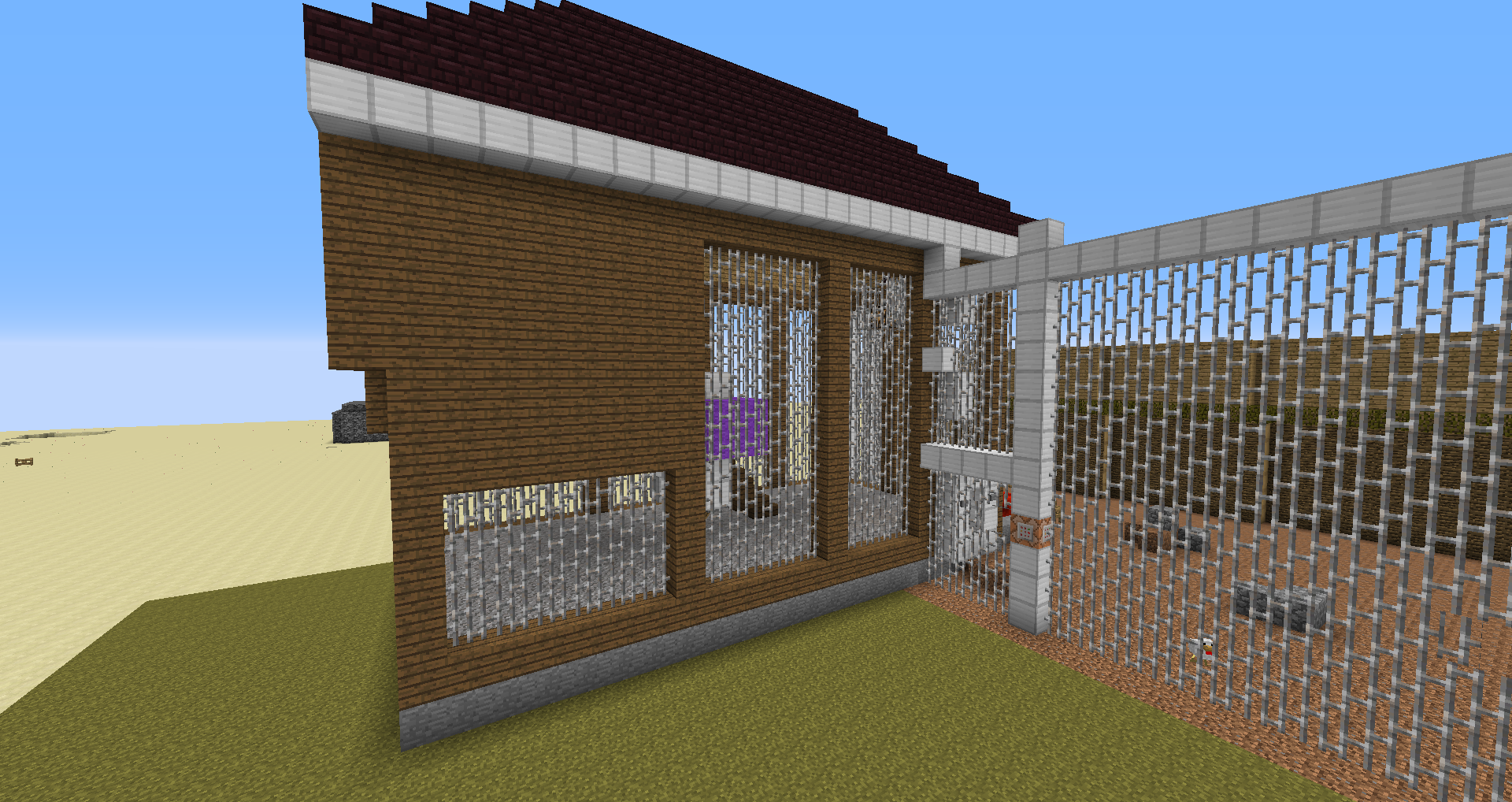 how to keep chickens in minecraft